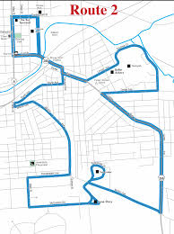 Bart Map And Schedule by Route 2 Blue Map Butler Transit Authority