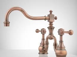 kitchen faucet gratefulness copper kitchen faucets ultra beautiful copper kitchen faucet with sprayer vintage bridge kitchen faucet with lever handles antique copper alternate