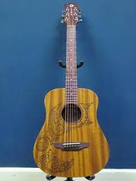 luna safari tattoo 3 4 size acoustic guitar u2013 castle rock music