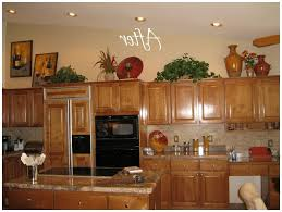 Above Kitchen Cabinet Ideas Kitchen Decorating Above Kitchen Cabinets For Stylish Decorating