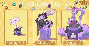 Pokemon Evolution Meme - evolution meme shelly by wee donut on deviantart
