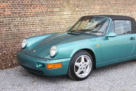 porsche 964 cabriolet porsche 964 carrera 4 cabriolet accidented car prof repaired