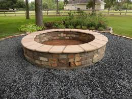 Rock Firepit Firepits Outdoor Fireplaces Landscaping Services