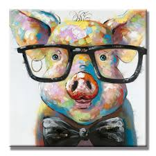 online get cheap pig artwork aliexpress com alibaba group