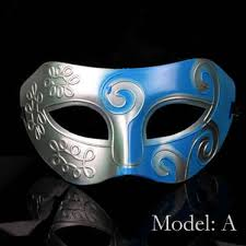 fancy mardi gras fancy cheap silver and blue mardi gras masquerade masks egifts2u