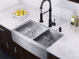 Contemporary Kitchen Faucet by Sink Beautiful Contemporary Kitchen Design With Small Brown