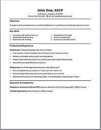 Job Description Of Pharmacy Technician For Resume by Job Description Of A Phlebotomist On Resume Free Resume Example