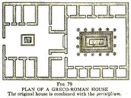 english country home plans house plan roman villa plan szukaj w google late antiquity