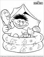 sesame street coloring pages coloring library