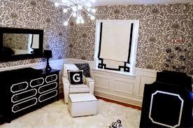 deco noir et blanc chambre chambre bébé en noir et blanc