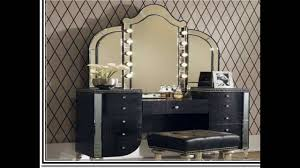 vanity table with lights and mirror decorative desk decoration
