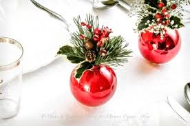 simple christmas table settings 50 best diy christmas table decorations pink lover