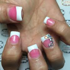 23 white line nail designs another superb nail polish idea for