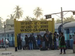 Vasco Da Gama Flag Panvel To Vasco Da Gama 44 Trains Railway Enquiry