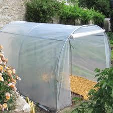 serre tunelle de jardin serre tunnel maraîchère 6 m richel plantes et jardins