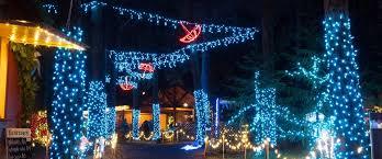 lights music u0026 santa the oregon garden