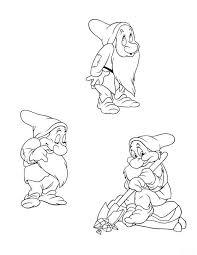 frozen disney coloring pages 153 best snow white u0026 the 7 dwarfs images on pinterest snow