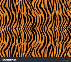 tiger pattern print stripes skin texture stock vector 662826163