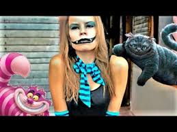 Cool Cat Halloween Costume Cheshire Cat Halloween Costume Easy Makeup Tutorial