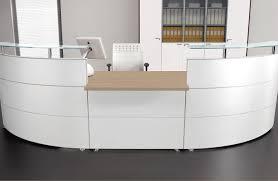 office table white reception desk canada white round reception