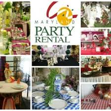 party rentals in maryland party rental party event planning 9314 liberty rd