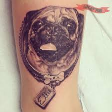 awesome 3d ellie the pug location leg on lauren marie by