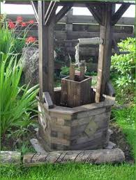 diy garden wishing well with this would be a great