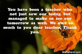 Thanksgiving Sms For Birthday Wishes Thank You Notes For Teacher