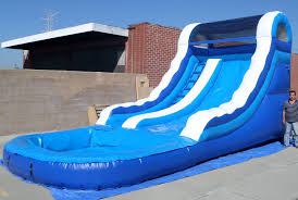 inflatable 14 feet front load water slide w115 ultimate jumpers