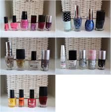 my minimalist nail polish collection tomorrow at dawn