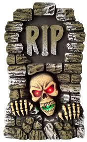 halloween props decoration rip gravestone animated decoration light up halloween tombstone