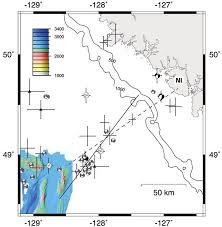 physical map of oregon juan de fuca plate jochen braunmiller ph d of south florida fl usf