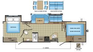 2 bedroom travel trailer floor plans 16 travel trailer floor plans 1 bedroom 5th wheel front