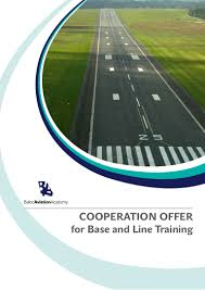 baltic aviation academy proposal on base and line training cooperati u2026