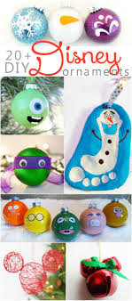 20 diy disney ornaments turtle ornaments mickey mouse