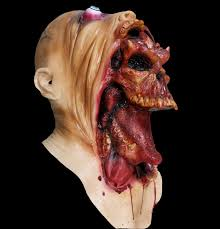 scary mask creepy parasite scary mask costume theater props