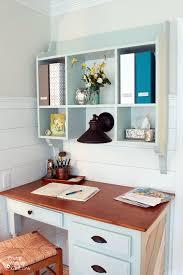 Kitchen Desk With Hutch Wall Mounted Kitchen Hutch Tutorial Pretty Handy