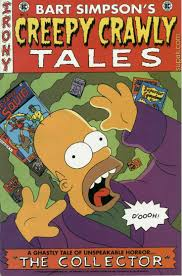 simpsons halloween of horror cthulhu in the background 36 best simpsons comics images on pinterest the simpsons comic