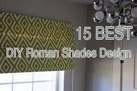 15 best diy roman shades design inspiration youtube