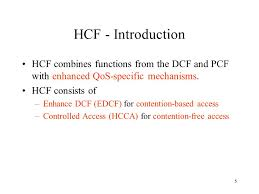 si e pcf 1 medium access enhancements for quality of service ieee std