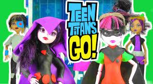 teen titans play doh monster dolls robin
