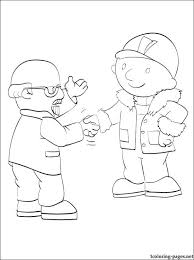 bernard bentley bob builder coloring pages