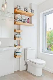 ideas for bathroom shelves 78 best images about small bathroom ideas on toilets