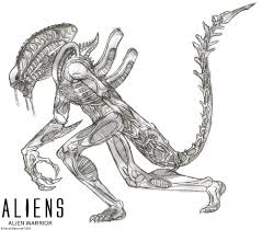 aliens alien warrior by titanosaur on deviantart