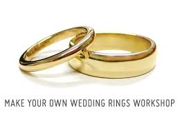 make your own wedding ring two jewellers make your own wedding rings