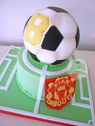 manchester united football birthday cake football birthday cake