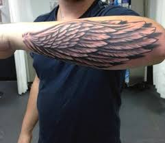 30 awesome wings tattoos on arm