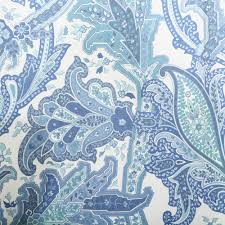 Paisley Shower Curtain Blue by How To Make Curtains For Ceiling Window Hvordan Lage Gardiner Til