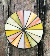 warm shades stained glass color wheel home decor u0026 lighting