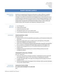 Nanny Duties Resume Nanny Duties And Responsibilities Resume Key Attributes Resume